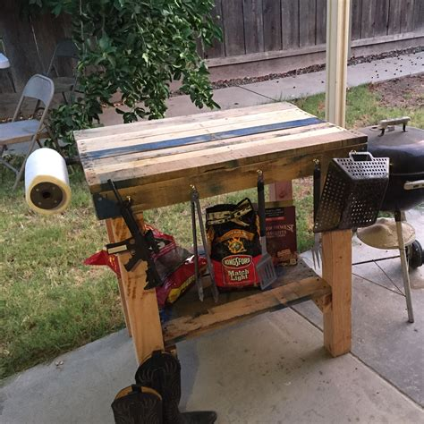 Diy Outdoor Prep Table For Grilling