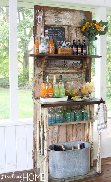 Diy Outdoor Projects With Old Wood Doors