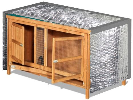 Diy Outdoor Rabbit Hutch Winter