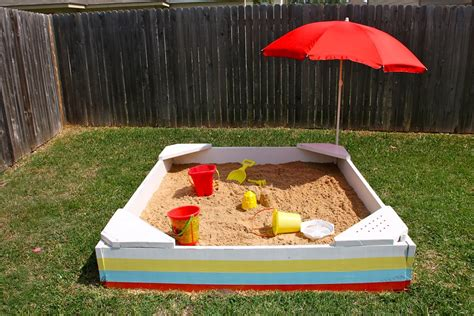 Diy Outdoor Sandboxes