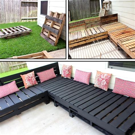 Diy Outdoor Sectional With Pallets