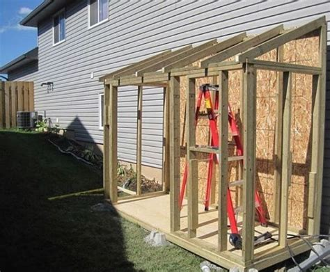 Diy Outdoor Shed Addition