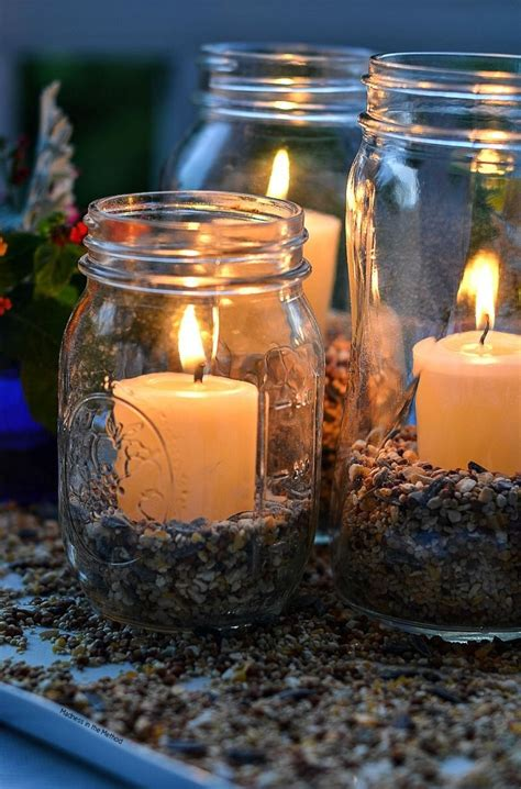 Diy Outdoor Shelves For Candles