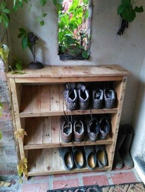 Diy Outdoor Shoe Rack Plans
