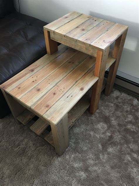 Diy Outdoor Side Table Pinterest Pallets