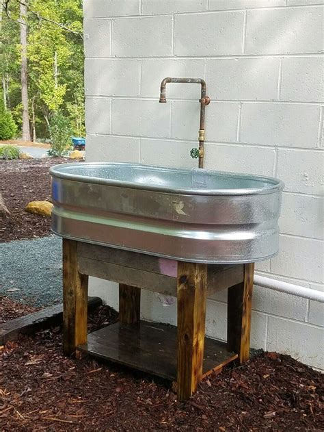 Diy Outdoor Sink Plumbing