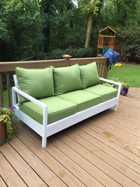 Diy Outdoor Sofa Bench