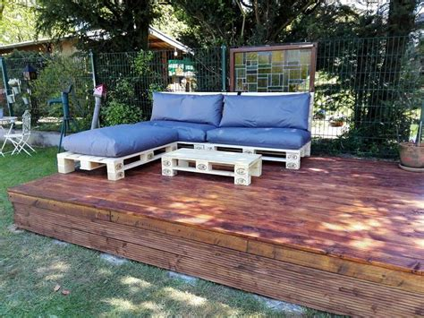 Diy Outdoor Sofa Pallets