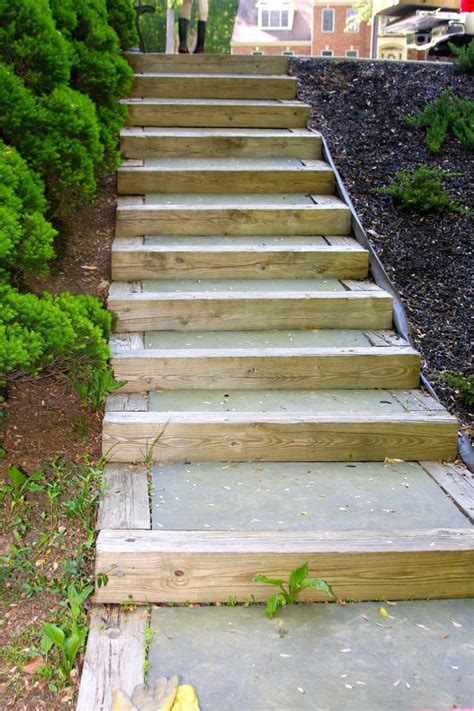 Diy Outdoor Stairs Cheap