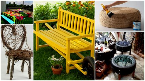 Diy Outdoor Stools