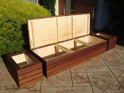 Diy Outdoor Storage Bench Seat Plan