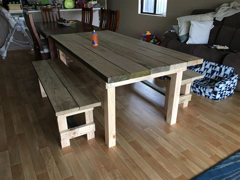 Diy Outdoor Table Bunnings