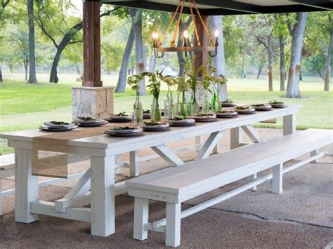 Diy Outdoor Table For 12
