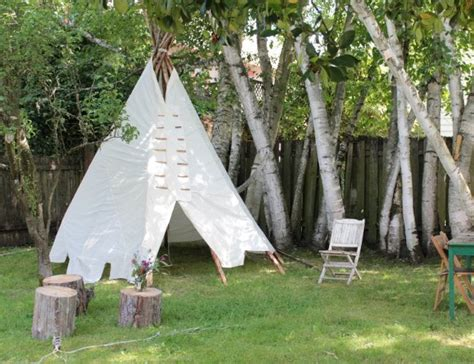 Diy Outdoor Teepees