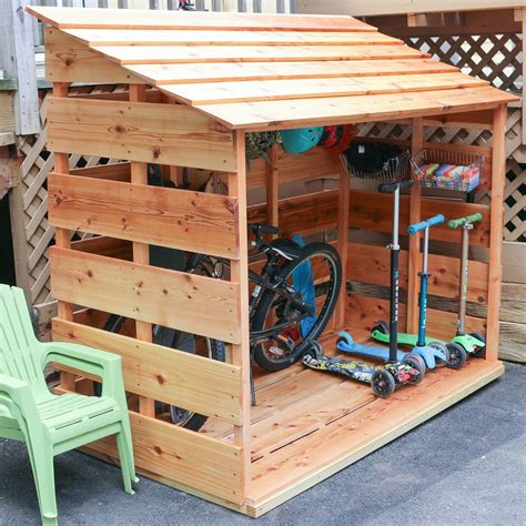 Diy Outdoor Toy Storage Sheds