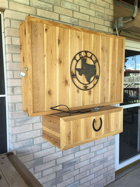 Diy Outdoor Tv Cabinet Enclosure