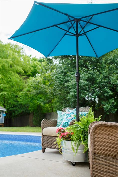 Diy Outdoor Umbrella Stand