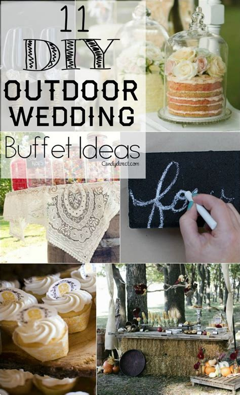 Diy Outdoor Wedding Buffet Ideas