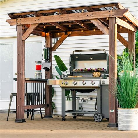 Diy Outdoor Wood Canopy Gazebo