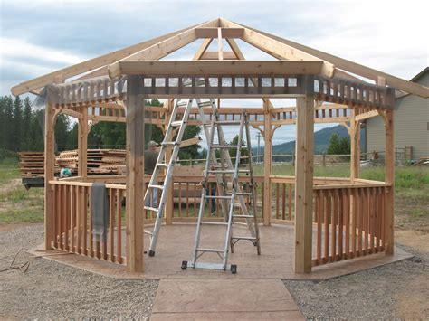 Diy Outdoor Wood Canopy Plans