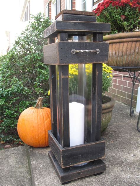 Diy Outdoor Wood Lanterns Large