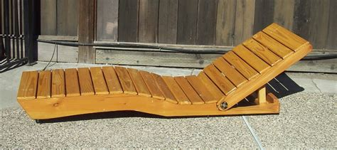 Diy Outdoor Wood Lounge Chairs