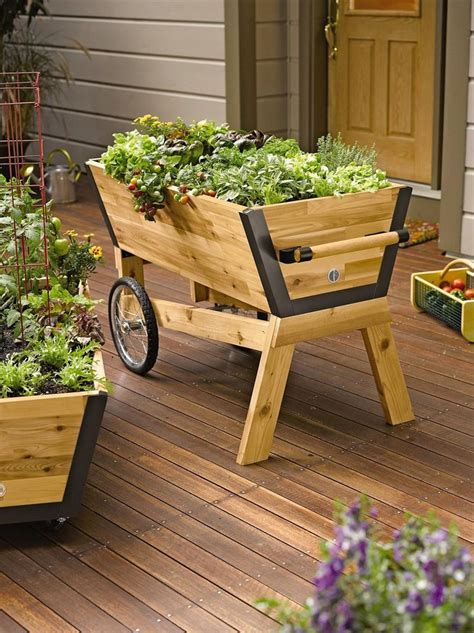 Diy Outdoor Wood Planter Box