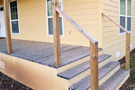 Diy Outdoor Wood Railing