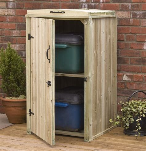 Diy Outdoor Wood Storage Cabinet