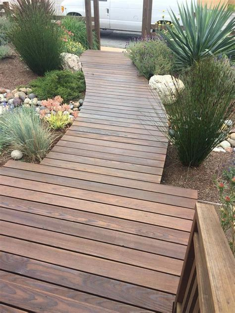 Diy Outdoor Wood Walkways