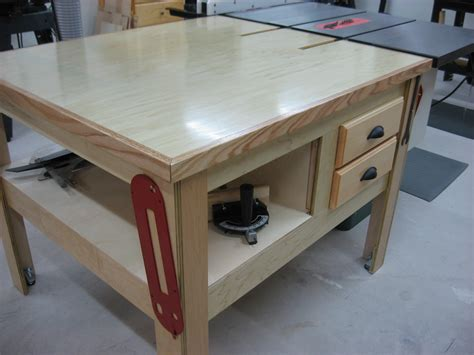 Diy Outfeed Table For Table Saw