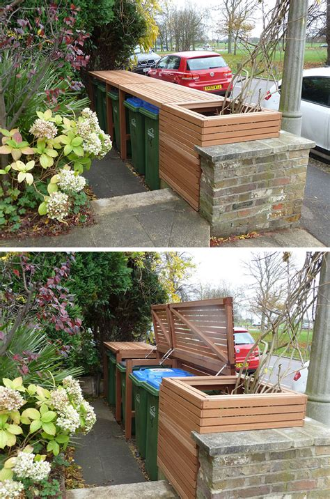 Diy Outside Storage Recycled Material