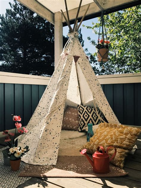 Diy Outside Tipi