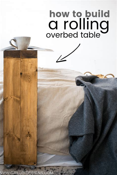 Diy Over The Bed Table