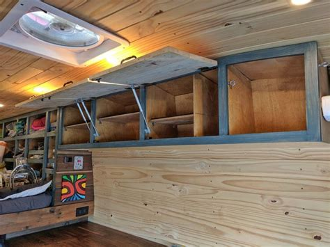 Diy Overhead Storage For Van