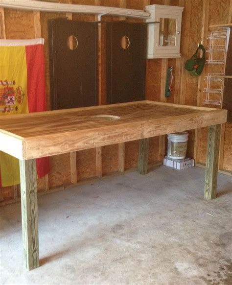 Diy Oyster Table
