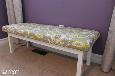 Diy Padded Bedroom Bench