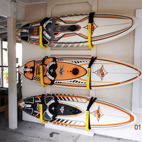 Diy Paddle Board Rack Wall Mount