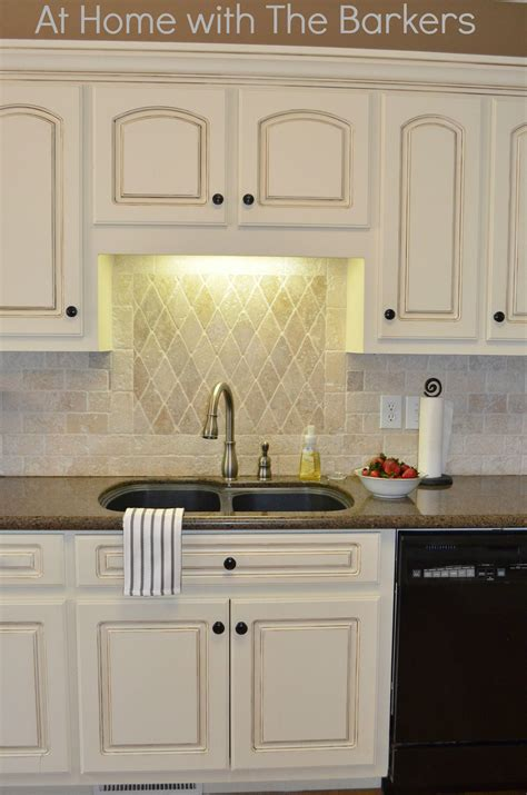 Diy Paint And Glaze Kitchen Cabinets