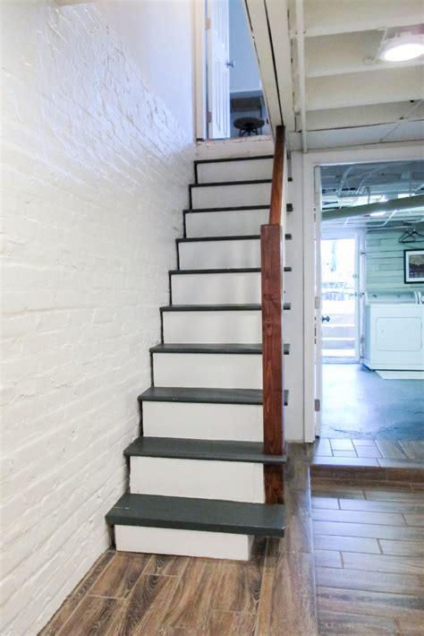 Diy Paint Basement Stairs