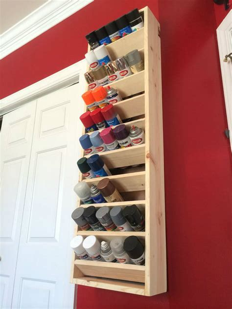Diy Paint Can Storage