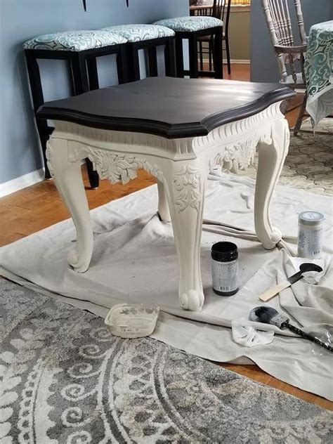 Diy Paint End Table