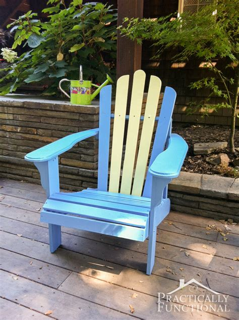 Diy Paint Old Adirondack Chair