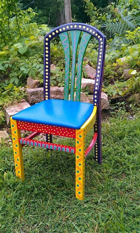 Diy Paint Wood Chair Easy On Back