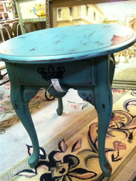 Diy Painted Small End Tables