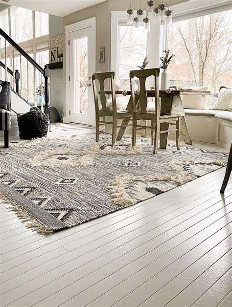 Diy Painted Wood Floor Tiles