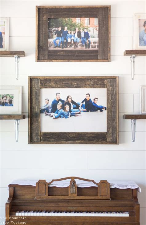 Diy Painted Wood Picture Frames