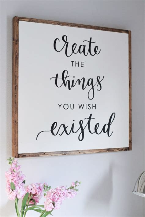 Diy Painted Wood Signs Tumblr Quotes