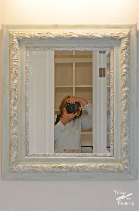 Diy Painting Mirror Frames Silver