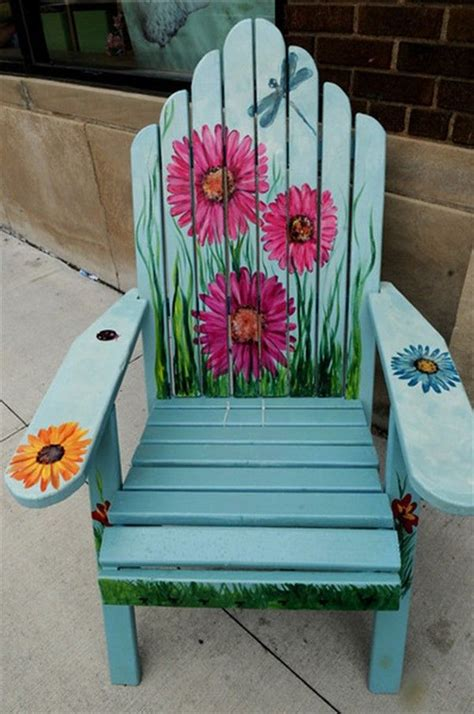 Diy Painting Outdoor Wood Chairs